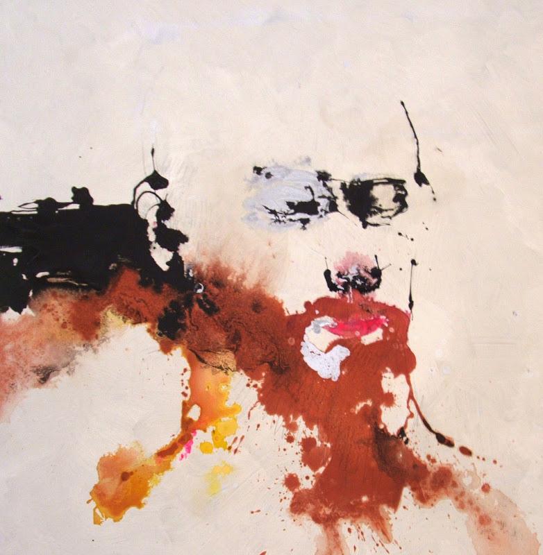 ANDREA_2015 (100 x 100 cm) tecnica mista su tavola | Andrea Silicati Pittore