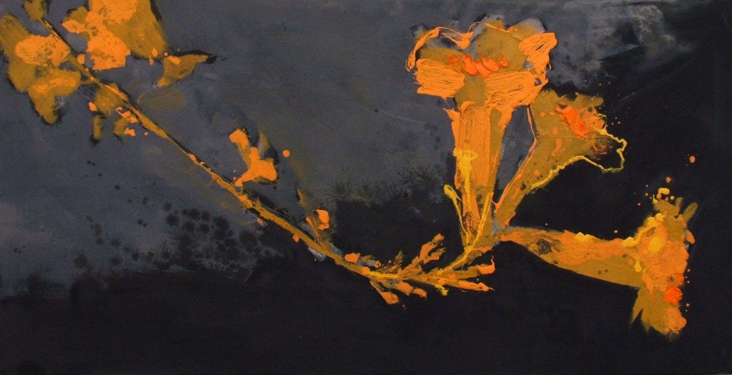 FIORE 25 (40 x 80 cm) | Andrea Silicati Pittore