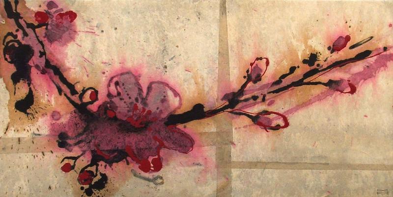 Fiore 14 (30x60cm) | Andrea Silicati Pittore