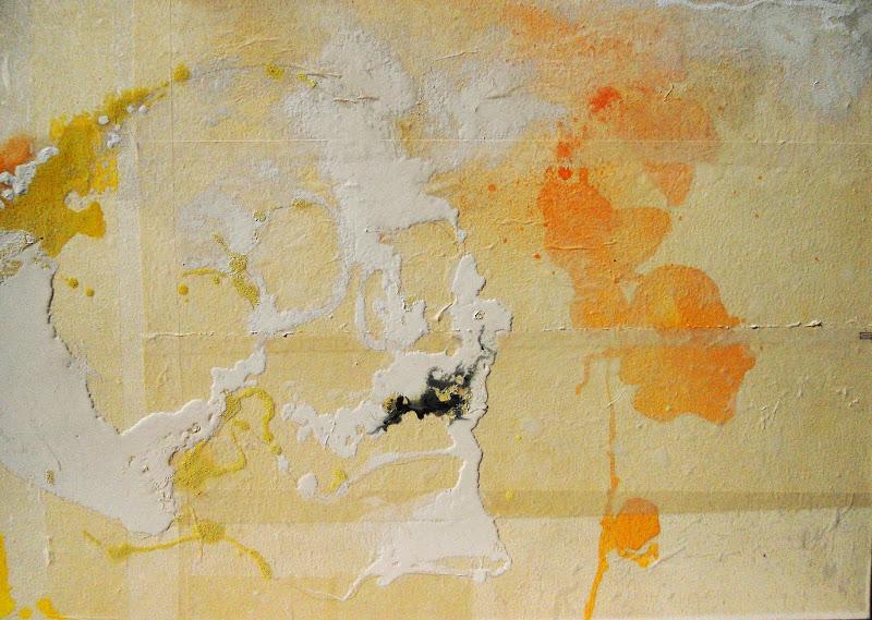 teschio 8 (80 x 100 cm) | Andrea Silicati Pittore